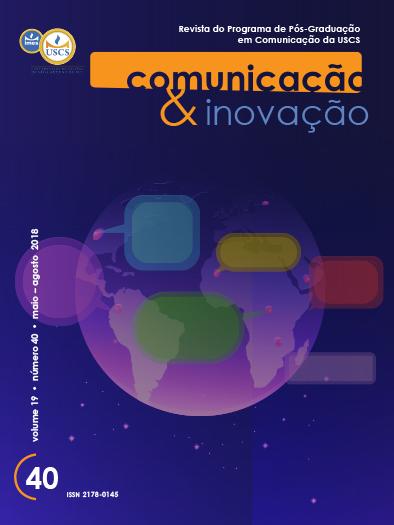 Visualizar v. 19 n. 40 (2018): Comunicação & Inovação
