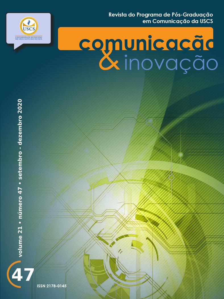 Visualizar v. 21 n. 47 (2020): Revista Comunicação & Inovação
