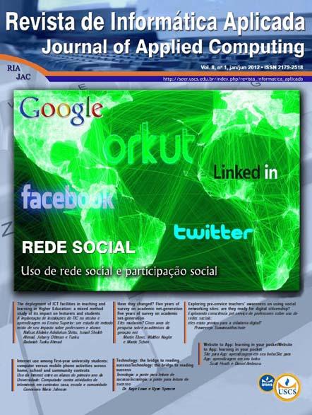 Visualizar v. 8 n. 1 (2012)