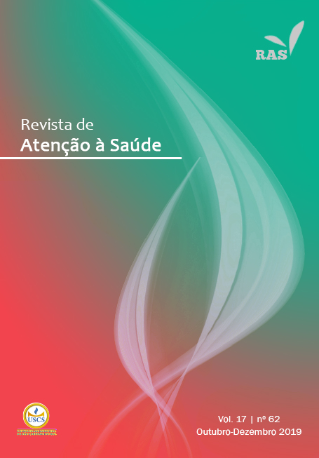 Visualizar v. 17 n. 62 (2019): Revista de Atenção à Saúde - RAS