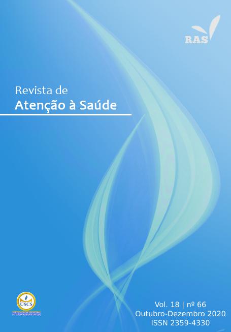 Visualizar v. 18 n. 66 (2020): Revista de Atenção à Saude - RAS