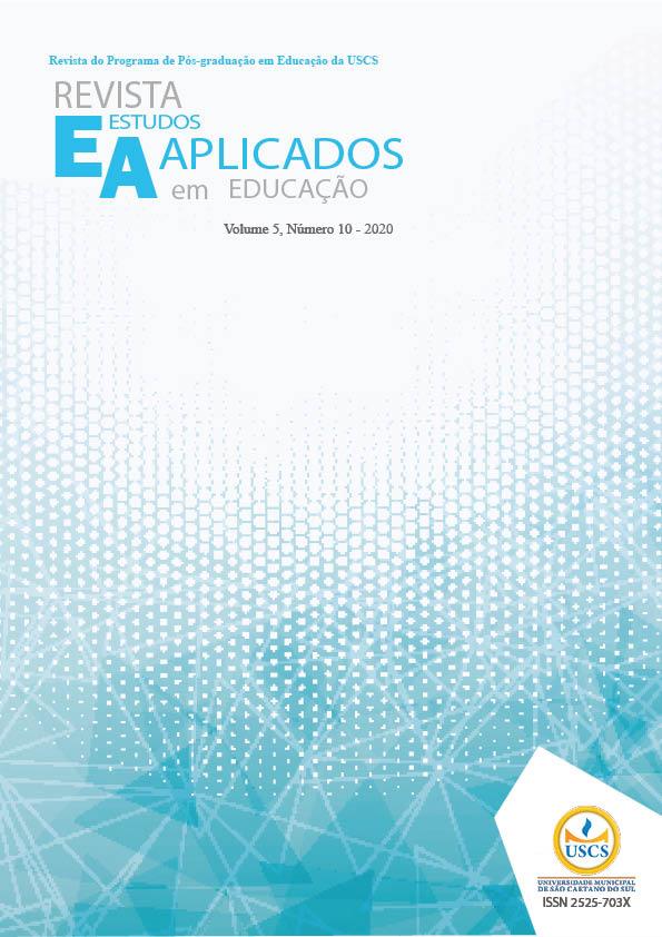 Visualizar v. 5 n. 10 (2020): Revista de Estudos Aplicados em Educação - REAe