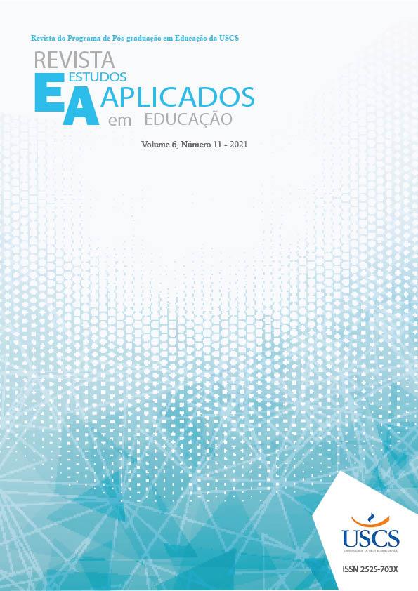 Visualizar v. 6 n. 11 (2021): REVISTA ESTUDOS APLICADOS EM EDUCAÇÃO - REAe